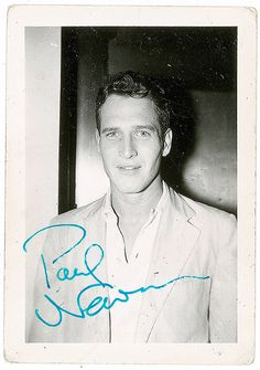 Paul Newman, 1950s.