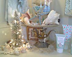 Penny's Vintage Home: Coastal Christmas Decor