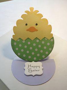 Cricut; Create a Critter; Simply Charmed; Easter Card