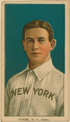 Hal Chase, New York Highlanders, 1909-1911 (T206). OWN.