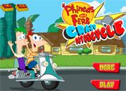 Phineas And Ferb Crazy Motocycle