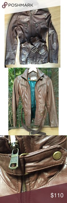 Marc New York 100% Leather Jacket Size:S LIKE NEW I ship same-day from pet/smoke-free home. I offer 15% discount on bundles and I have A LOT of luxury apparel, shoes and jewelry in my closet so definitely check out the rest of it 😊 Buy with confidence. I am a top seller here for a reason. 😊😎 Zara Jackets & Coats
