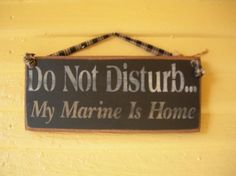 Cant wait to hang this up on my door! just say soldier instead of Marine