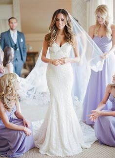 Photography: Gianny Campos Photography   giannycampos.com Wedding Dress: Galia Lahav   www.galialahav.com/ Bridesmaids' Dresses: Weddington Way   www.weddingtonway.com/   View more: http://stylemepretty.com/vault/gallery/37935