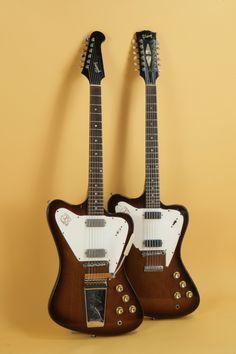1966 Gibson FireBird XII (non reverse) 6 and 12 string.