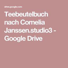 Teebeutelbuch nach Cornelia Janssen.studio3 - Google Drive