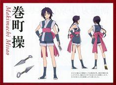 Hiromitsu Hagiwara, Nobuhiro Watsuki, Studio Deen, Rurouni Kenshin, Misao Makimachi