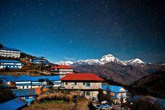 Dead of night Ghorepan, Nepal