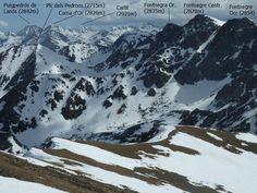 Vistes des dels Pics d'Envalira a Andorra