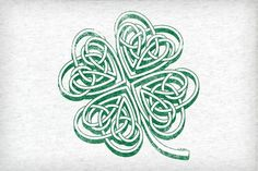 Celtic Knot Shamrock, this would make a great tatoo Shamrock Tattoos, Clover Tattoos, Celtic Symbols, Celtic Art, Celtic Knots, Celtic Crafts, Celtic Patterns, Celtic Designs, Celtic Shamrock