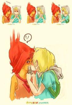 Flame princess & Finn