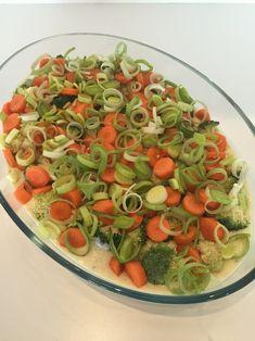 Laks i form med blomkål- og potetmos — Hege Hushovd Fruit Salad, Pasta Salad, Food And Drink, Favorite Recipes, Fish, Ethnic Recipes, Crab Pasta Salad, Fruit Salads, Pisces