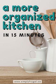 Organising Hacks, Organisation Hacks, Organizing Life, Kitchen Organization, Organized Kitchen, Kitchen Pantry, Kitchen Hacks, Beautiful Kitchen Designs, Beautiful Kitchens