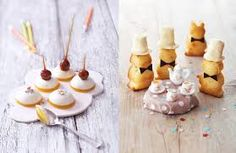 Lovely sweets and fun snacks for kids from a new cookbook by My Little Fabric Yummy Treats, Delicious Desserts, Sweet Treats, Dessert Recipes, Yummy Food, Tart, Meringue, Cupcakes, Food Humor