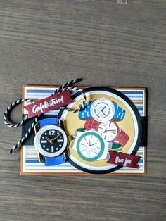 Marianne Design, Man Card, Clock, Men, Cards