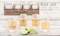 Inicio - Mason Jars Mexico Tequila Shots, Ron, Shot Glasses, Craft Party, Mason Jars, Bakery, Mexico, Party Ideas, Crafts