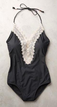 gorgeous lace front swimsuit