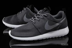 Nike Roshe Run: Black/Cool Grey/White