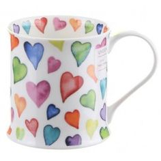 Bedazzled Collection Warm Hearts Wessex shape Mug