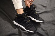 """Air Jordan 11 Retro Premium """"Heiress"""" Style:  Please note that exchanges, cancellations and."""