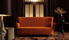 #Sofa #Vignola, dostojna i piękna jak muzyka klasyczna. Dopełni Twoje wnętrze, w najbardziej wyrafinowany sposób. Po prostu spocznij na niej i poczuj muzykę. #ArisConcept Sofa, Couch, Home And Living, Love Seat, Living Spaces, Dining Room, Chair, Inspiration, Furniture