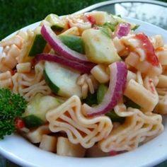 Sweet and Sour Pasta Salad - Allrecipes.com