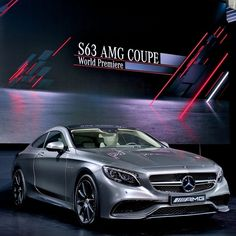 The Star of the show.   #NYIAS #S63 #AMG #mercedes #benz #instacar #germancars