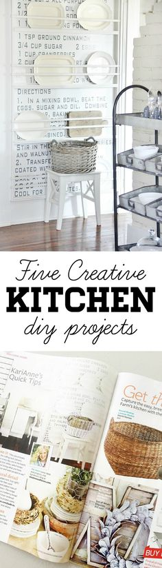Five Creative Kitche