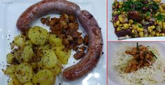 fischi`s cooking and more....: feine wildbratwürstel mit gebratenen erdäpfel