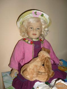 Колекционная кукла от Sissel Bjorstad Skille