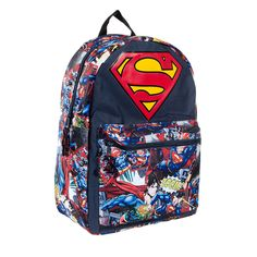 Superman Big Logo Backpack