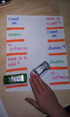 Such a neat way to practice facts!