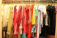 Daughters closet makeover