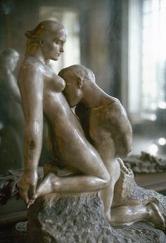 Inch Print - High quality print (other products available) - RODIN: LOVERS, <br>& Lovers.& Sculpture, by Auguste Rodin. - Image supplied by Granger Art on Demand - Photo Print made in the USA Auguste Rodin, Musée Rodin, Statues, Camille Claudel, Idole, Poster Prints, Art Prints, Modern Sculpture, Oeuvre D'art