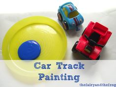 The fairy and the frog: Painting with cars