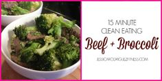 Jessica Rodriguez - Fitness and Nutrition | 15 Minute Clean Eating Asian Beef and Broccoli | http://jessicarodriguezfitness.com
