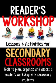 Middle & High School English: There is a lot of help out there for elementary reader's workshop, but not a lot for middle and high school.  Let this bundle of activities help you plan and organize a successful reader's workshop in your secondary classroom.