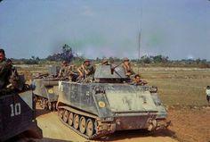 "M113 apc ""B"" troop 3/4th Cavalry , 25th Infantry Division ""Tropic Lightning"" | by Jerzy Krzemiński"