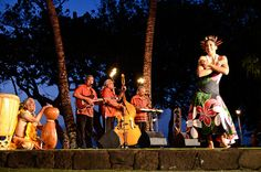 Attend the luau at the Old Lahaina Luau in Maui.