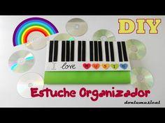 DIY Estuche organizador goma eva CD, DVD videojuegos... - YouTube