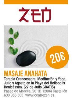 Encuentra el equilibrio entre el cuerpo y la mente, olvídalo todo y simplemente relájate.     Zen.