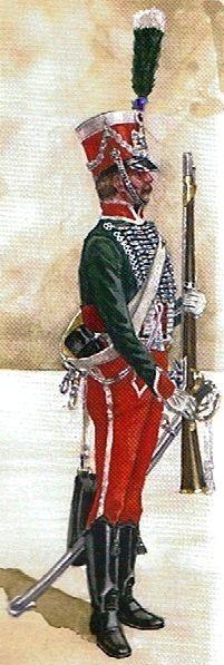 France - Cavalerie - Les Gardes d'Honneur.
