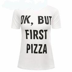 First Pizza T shirt