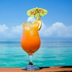 ~The Hawaiian Hammer~ is one of those sneaky drinks that's got a lot more kick than you'd think. It's technically a double, with three ounces of alcohol, but because there's twice as much fruit juice, it goes down smooth.