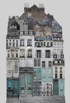 Genius Loci / BE / Brussels, cm by Anastasia Savinova handmade collage reprinted on glossy cardstock approx x City Collage, Collage Art, Photomontage, Atelier Theme, Collages, Genius Loci, Affordable Art Fair, A Level Art, Aarhus