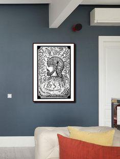 Brain Vibration Antique Print/Human Portrait Vintage Wall Art/Science & Technology Retro Poster/Head Chart Printing/Brain Plate Print Science Art, Science And Technology, Vintage Wall Art, Antique Prints, Poster On, All Print, All Design, Maps, Brain