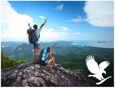 Feel on top of the world with Forever Living Products!
