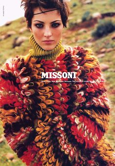 Missoni sweater = fabness