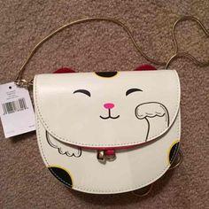 NWT Kate Spade Cat Tonti bag Love this super cute bag, new never used. kate spade Bags Crossbody Bags