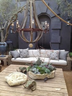 neutral colors - cosy outdoor